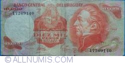 Image #1 of 10000 Pesos ND(1974) - Serie C