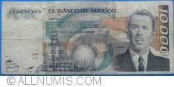 Image #1 of 10 000 Pesos 1985 (19. VII.) - Serie LJ