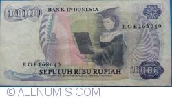 Image #2 of 10 000 Rupiah 1985