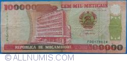 Image #1 of 100,000 Meticais 1993 (16. VI.) (1994)