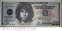 Image #1 of 1 000 000 Dollars 2012 - Jim Morrison