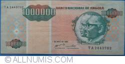 Imaginea #1 a 1 000 000 Kwanzas Reajustados  1995 (1. V.)
