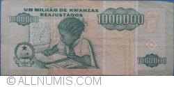 Imaginea #2 a 1 000 000 Kwanzas Reajustados  1995 (1. V.)