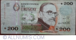 Image #1 of 200 Pesos Uruguayoss 2011