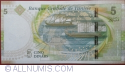 Image #2 of 5 Dinars 2013 (20. III.)