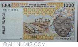 Image #1 of 1000 Francs (19)91