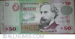 Image #1 of 50 Pesos Uruguayos 2008
