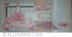 Image #2 of 50 Pesos Uruguayos 2008