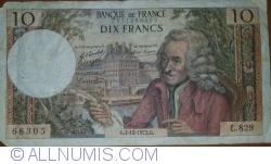 Imaginea #1 a 10 Franci 1972 (7. XII.)