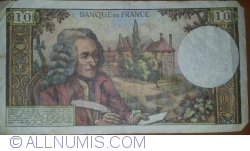 Image #2 of 10 Francs 1972 (7. XII.)