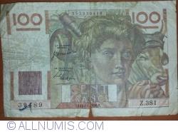 Image #1 of 100 Francs 1950 (16. XI.)