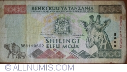 Image #1 of 1000 Shilingi ND(1997)