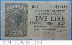 Image #1 of 2 Lire 1944 (23. XI.)