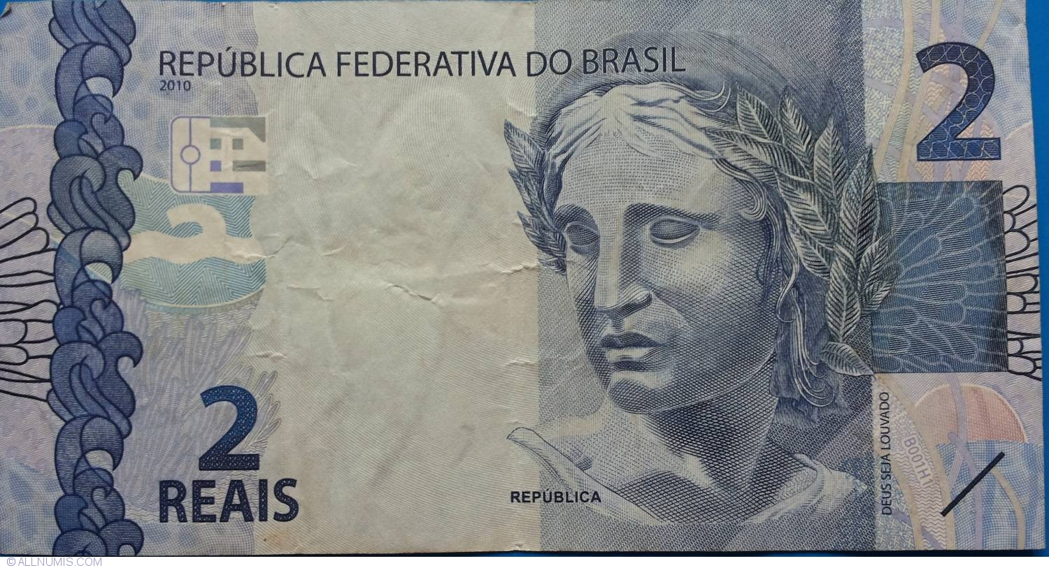 2 Reais 2010, 2010 Issue - Brazil - Banknote - 5829