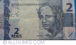 Image #1 of 2 Reais 2010 - signatures Guido Mantega / Alexandre Antonio Tombini