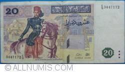 Imaginea #1 a 20 Dinars 1992 (7. XII.)