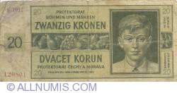 Imaginea #1 a 20 Korun 1944 (24. I.)