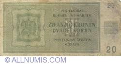 Imaginea #2 a 20 Korun 1944 (24. I.)