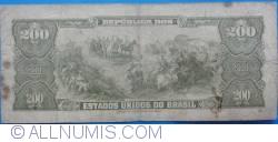 Imaginea #2 a 200 Cruzeiros ND(1964)