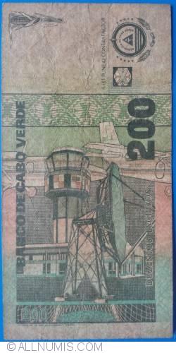 Image #2 of 200 Escudos 1992 (08. VIII.)