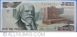 Image #1 of 2000 Pesos 1987 (24. II) - Serie CJ