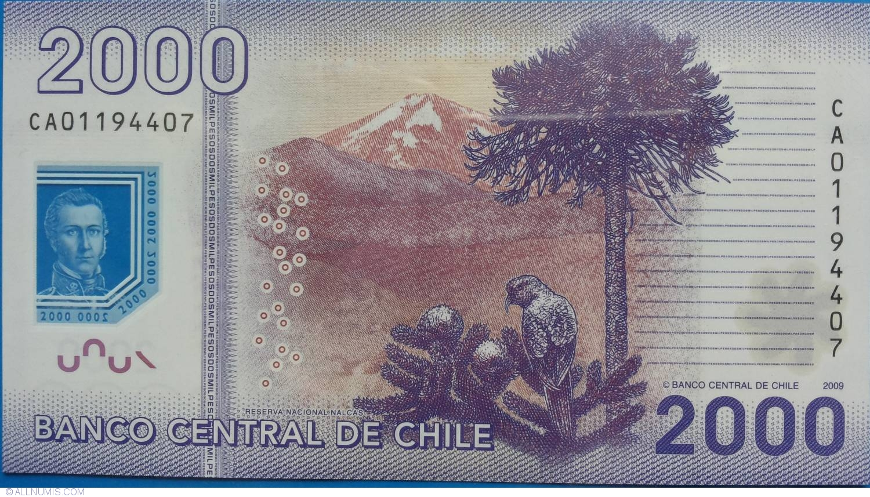 2018 P 161 POLYMER UNC CHILE 1000 1,000 PESOS 2016