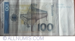 Image #2 of 100 Deutsche Mark 1989 (2. I.)