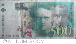 Image #1 of 500 Francs 1994