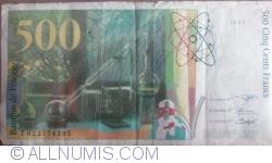 Image #2 of 500 Francs 1994
