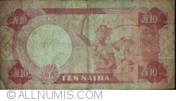 Imaginea #2 a 10 Naira ND(1984-2000)