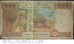 Image #2 of 500 Francs 2002 - signature 1