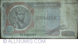 Image #1 of 1 Zaïre 1981 (28. V.)