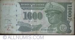 Image #1 of 1000 Nouveaux Zaires 1995 (30. I.)