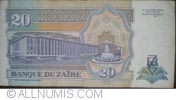20 Nouveaux Zaïres 1993 (24. VI.)