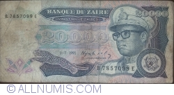 Image #1 of 20,000 Zaires 1991 (1. VII.)