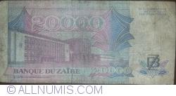 Image #2 of 20,000 Zaires 1991 (1. VII.)