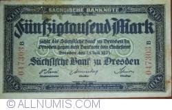 Image #1 of 50 000 Mark 1923 (25. VII)