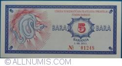 5 Bara 2011 (1. VIII.)