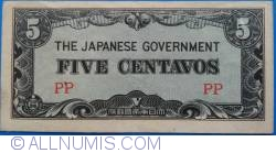 Image #1 of 5 Centavos ND (1942)