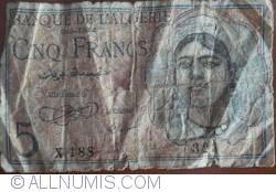 Image #1 of 5 Francs 1944 (8. II)
