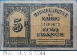 Imaginea #1 a 5 Francs 1943 (1. VIII.)