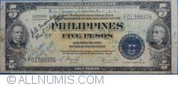 Image #1 of 5 Peso ND(1944)