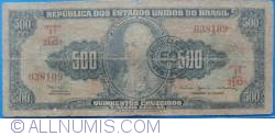 Image #1 of 50 Centavos on 500 Cruzeiros ND(1967)