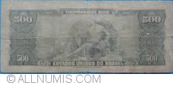 Image #2 of 50 Centavos on 500 Cruzeiros ND(1967)