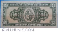 Image #2 of 50 Centesimos L.1939 - Serie C