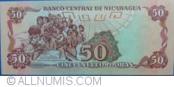 Image #2 of 50 Córdobas 1985 (1988)