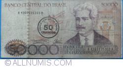 Image #1 of 50 Cruzados on 50 000 Cruzeiros ND(1986)