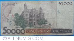 Image #2 of 50 Cruzados on 50 000 Cruzeiros ND(1986)