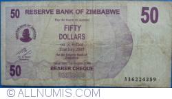 Imaginea #1 a 50 Dollars 2006 (1. VIII.)