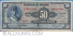 Image #1 of 50 Pesos 1961 (25. I.)